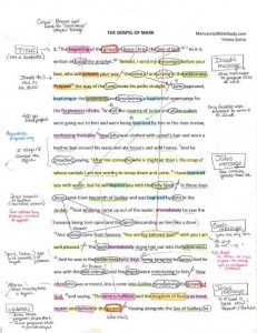 Teresa's Manuscript, p. 1